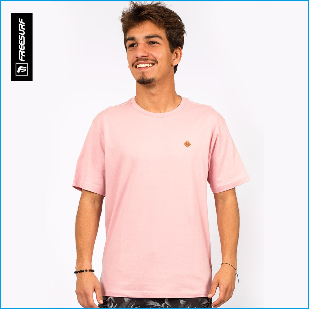 Camiseta Masculina FreeSurf Essencial Mar