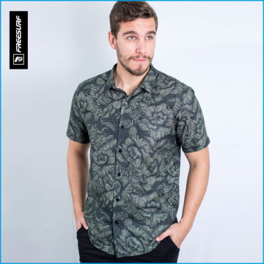 Camisa Masculina FreeSurf Flores